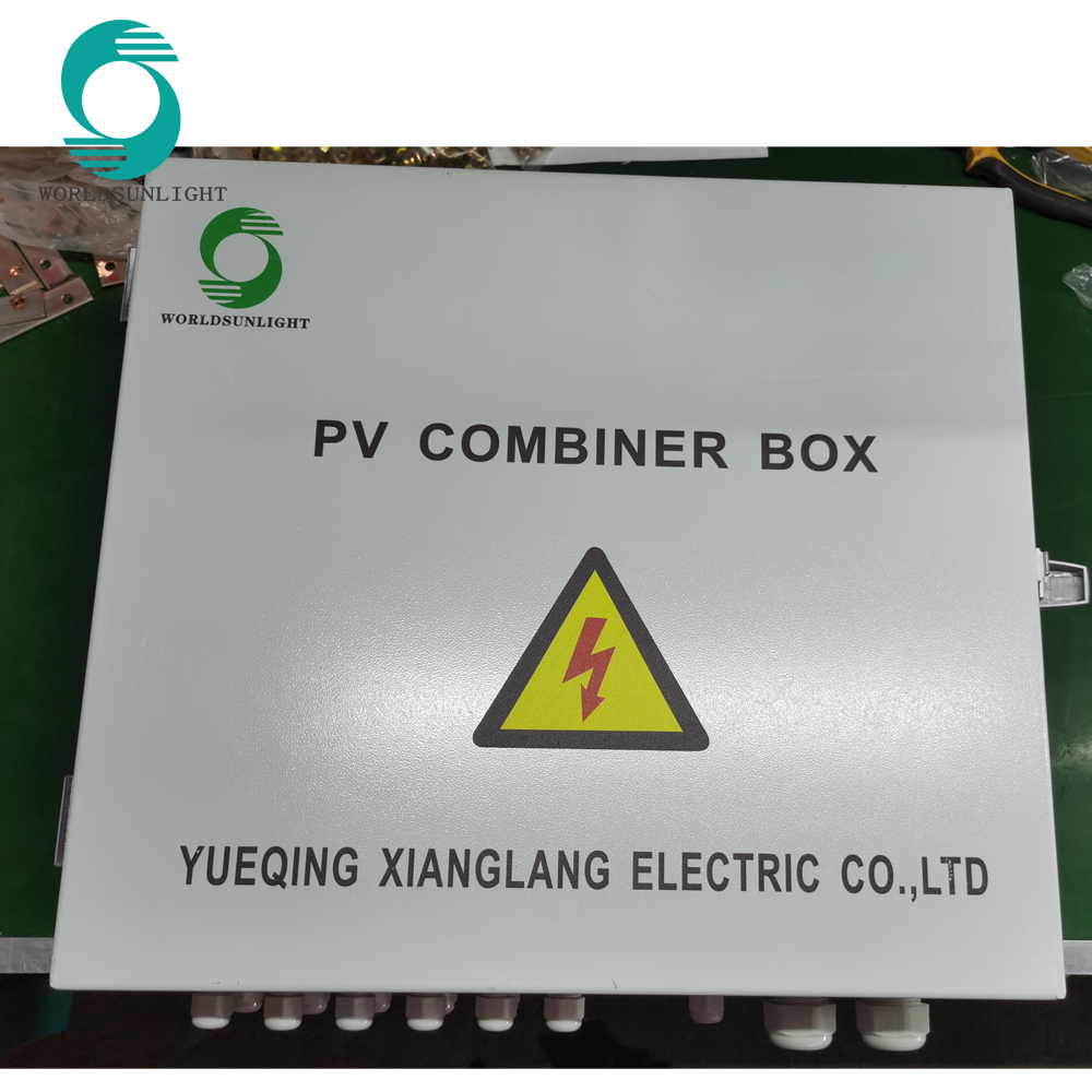 WSDB-PV6/1D 6 input 1 out 1000V DC ,solar panel PV COMBINER BOX with anti-reverse diode